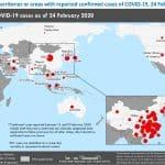 CoVID-19 cases 20200224_WHO